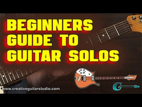 IMPROVISATION: Beginners Guide to Guitar Solos