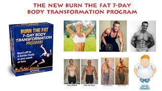 The NEW Burn The Fat 7 Day Body Transformation Programme Review - Does It Work or Scam?