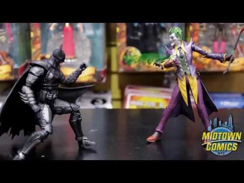 S.H. Figuarts Batman and Joker Action Figure Unboxing