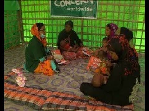 Bangladesh News (06 Oct, 2017) - NGO's open breastfeeding centers for Rohingya women in Bangladesh