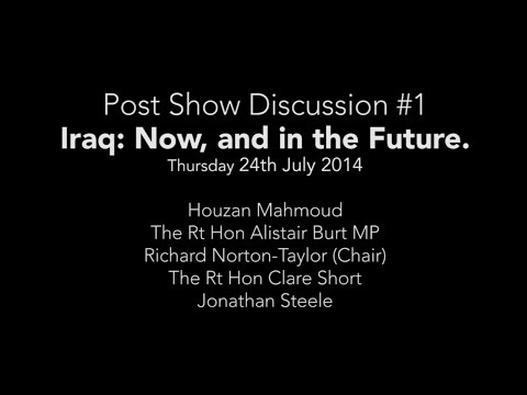 Iraq, Now & In The Future: (The Nightmares of Carlos Fuentes Post-Show Discussion #1)