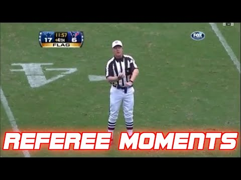 NFL BestFunniest Referee Moments