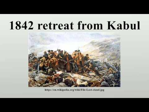 1842 retreat from Kabul
