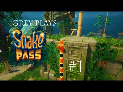 Snake Pass Part 1 - Snake On A… Path? Noodle To The Rescue! - Let's Play With Snakes!