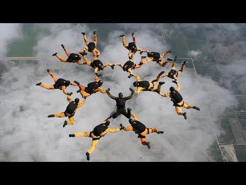 U S  Army Parachute Team, Golden Knights Practice Jump