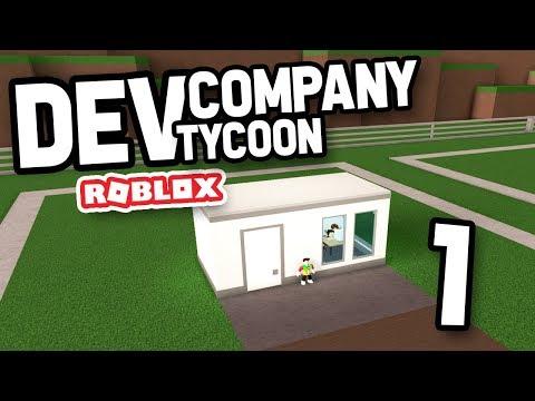 BUILDING MY OWN COMPANY - Roblox Development Company Tycoon #1