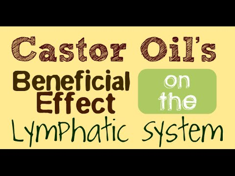Castor Oil's Beneficial Effect on the Lymphatic System
