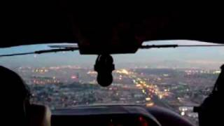 Cessna 177 North Las Vegas Approach and Landing