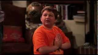 Two and a Half Men- jake praying for math test