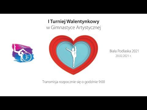 I Turniej Walentynkowy w Gimnastyce Artystycznej (20.02.2021)