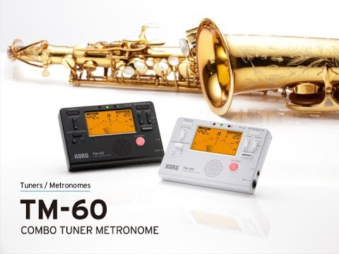 KORG TM-60 - Advanced Combo Tuner and Metronome; a must-have item for practicing