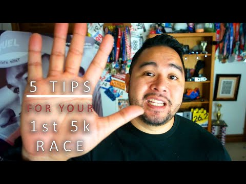5 tips for running your first 5k Race