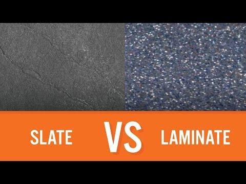 Slate vs Laminate | Countertop Comparison