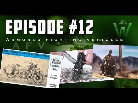 Tutorial: 1/35 Mirror Models Indian 741B Motorcycle by Carlos Costa | Warfare in Scale