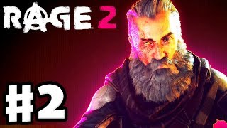 Rage 2 - Gameplay Walkthrough Part 2 - John Marshall! Blackout Sewer Mission! (PC)