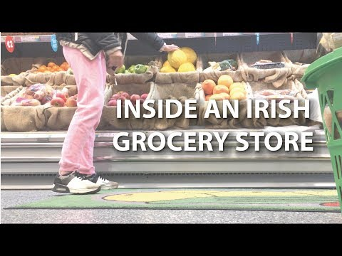 a trip to Centra - inside an Irish grocery store | STUDY ABROAD IN IRELAND