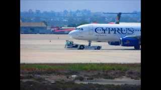 69 Years Cyprus Airways-moments, onboard,taxing,planespotting,cockpit