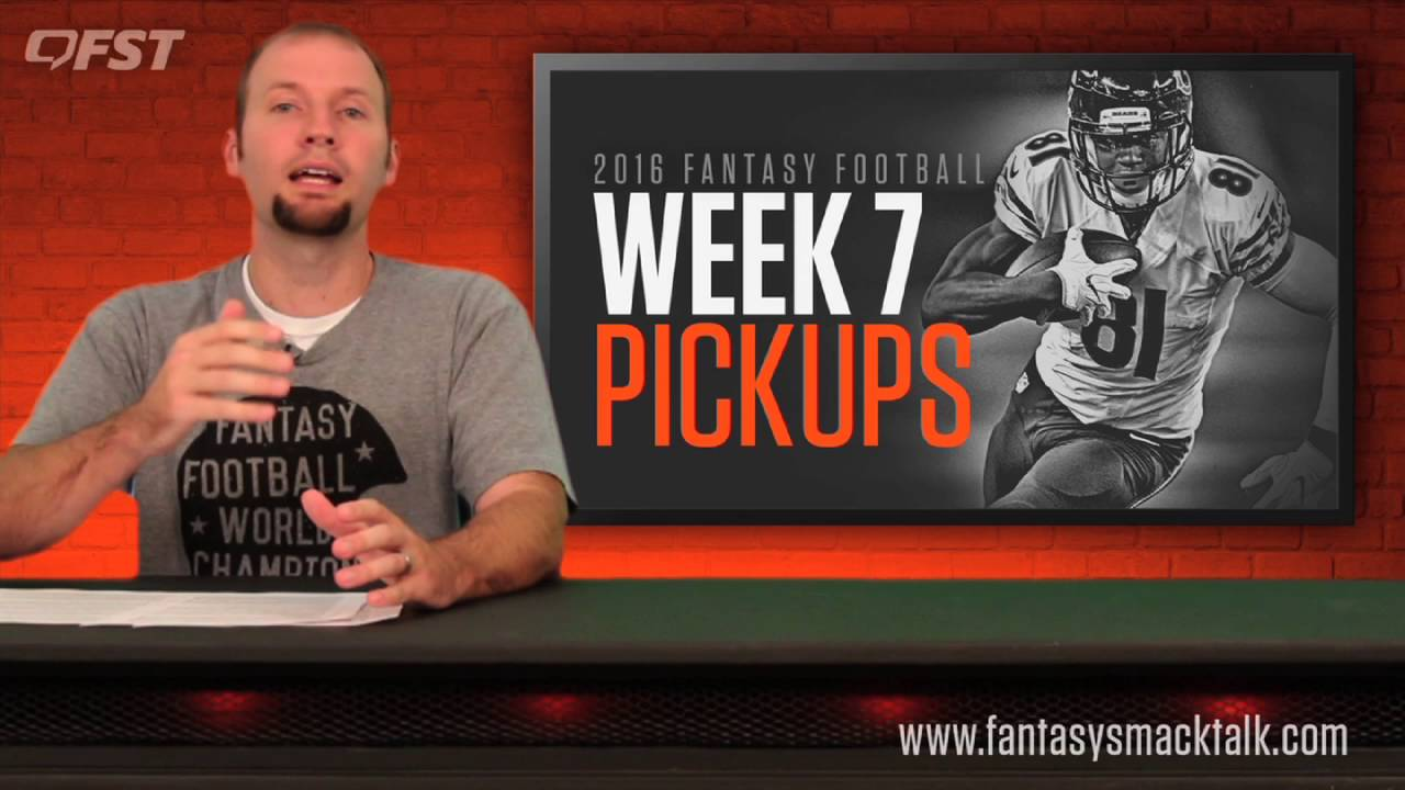 week 7 done Hey guys hope all of our fantasy football articles helped you have a very successful week 6 with it coming to an end, lets hop in to week 7 and see what we need.
