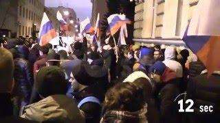 проект 60sec 265 акция протеста у посольства украины в москве
