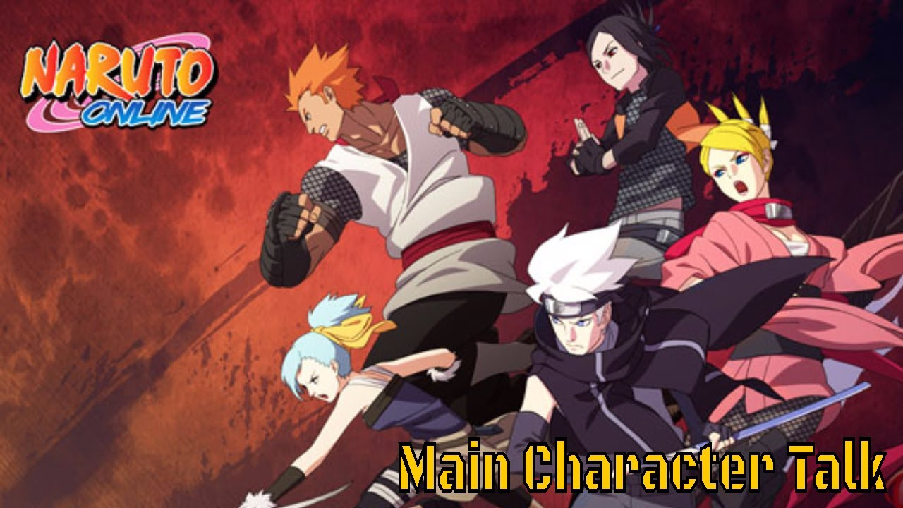 naruto online state of the main characters youtube