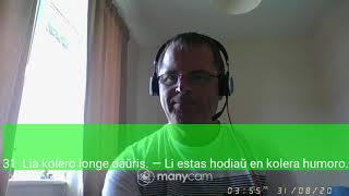 Fundamento De Esperanto Ekzerco 31   Deflugi  tiu ĉi