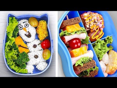 10 Крутых ланчей для школьников / Новые рецепты для детей