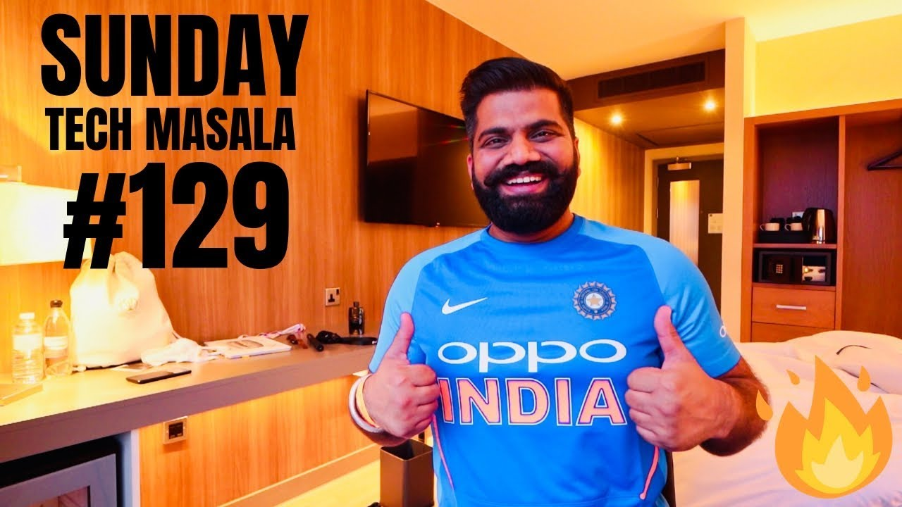 #129 Sunday Tech Masala - INDvPAK World Cup 2019 #BoloGuruji