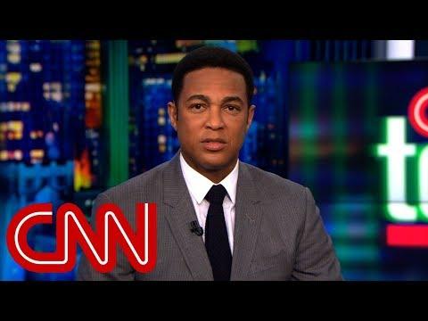 Don Lemon slams Trump over golf analogy