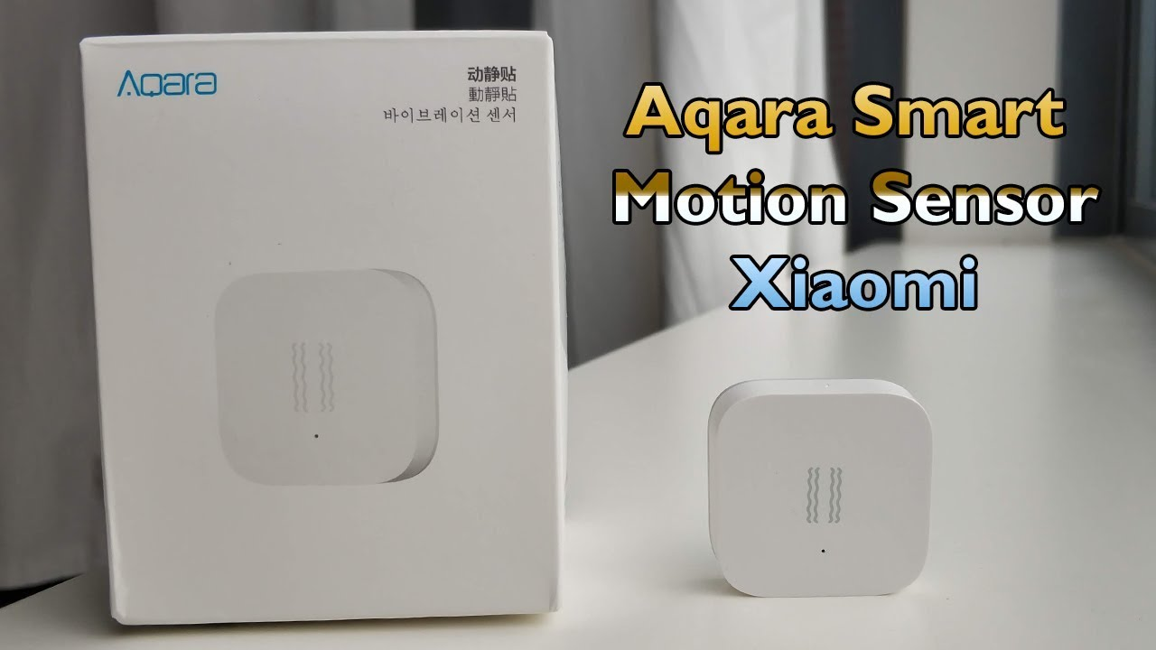 video Aqara Vibration Sensor