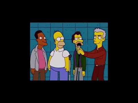 Todos odian a Ned Flanders (con letra) - Los Simpson