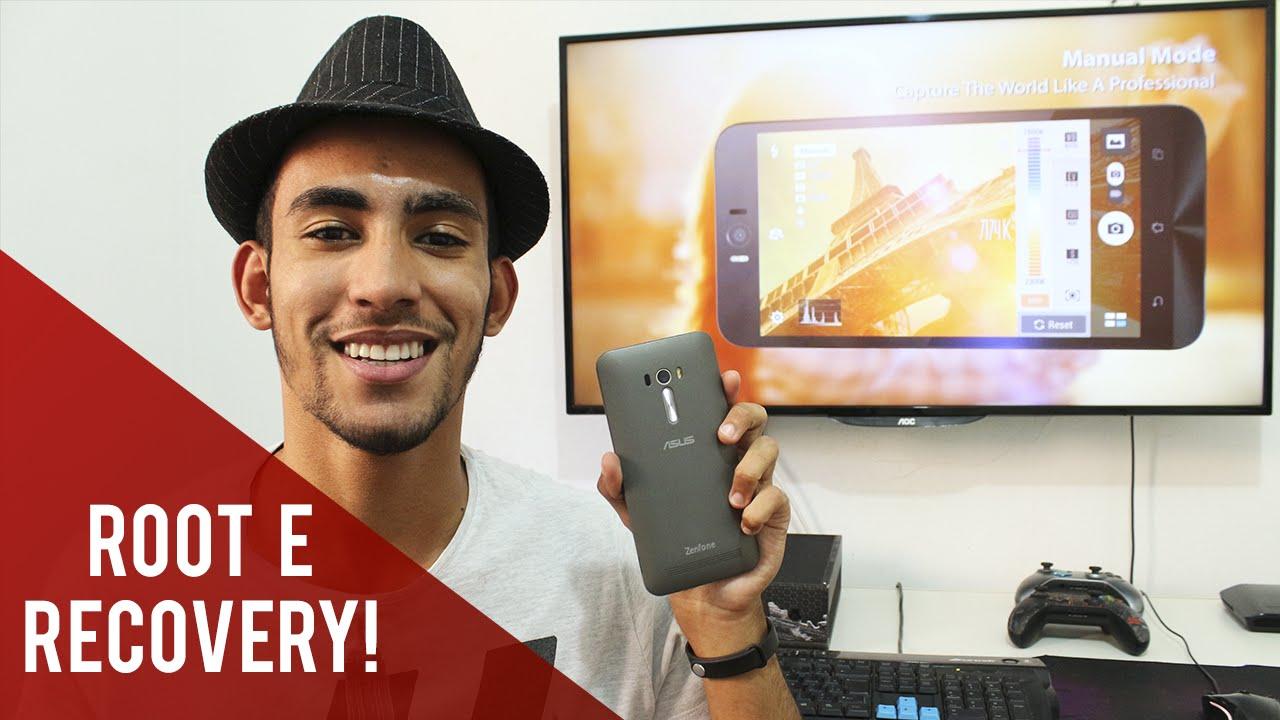 Tutorial – Como fazer Root e instalar Recovery no Zenfone Selfie e Zenfone Laser!