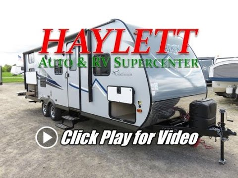 HaylettRV.com - 2017 Coachmen Apex 245BHS Ultralite Bunkhouse Outside Kitchen Travel Trailer