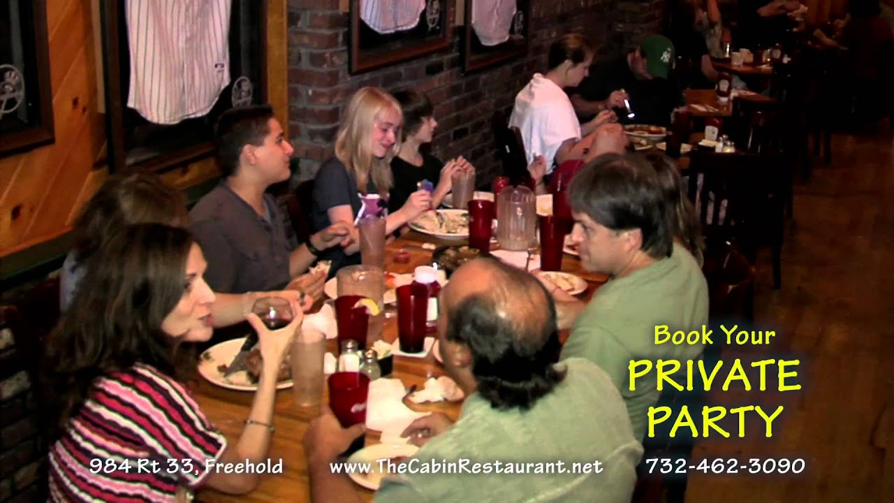The Cabin Restaurant & Bar in Freehold 2012 TV mercial by