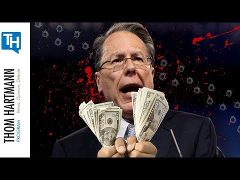 Is Wayne Lapierre Just a Crisis Actor Performing For Big Money?