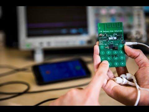 أخبار تكنولوجيا | باحثون أمريكيون يكشفون النقاب عن هاتف محمول يعمل دون بطارية  - 14:22-2017 / 8 / 10