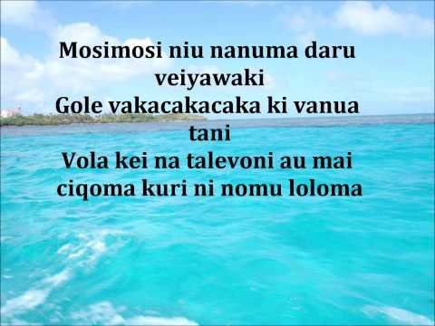 Malumu ni tobu kei navaukura- Au na vorata vakacava lyrics