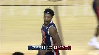 Auburn vs Texas A&M Men's Basketball Highlights