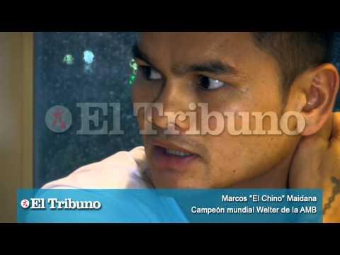 El Chino Maidana y una charla íntima con El Tribuno