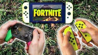 ❔ los JOY-CON o el MANDO PRO para jugar FORTNITE en una Nintendo SWITCH