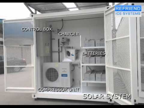SOLAR POWER REFRIGERATED CONTAINER