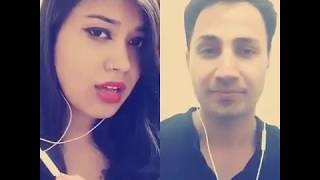 mere haath mein tera haath ho cover by madan sangroula and ankita