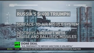 Turkey confirms purchase of Russian S-400 missile despite US pressure