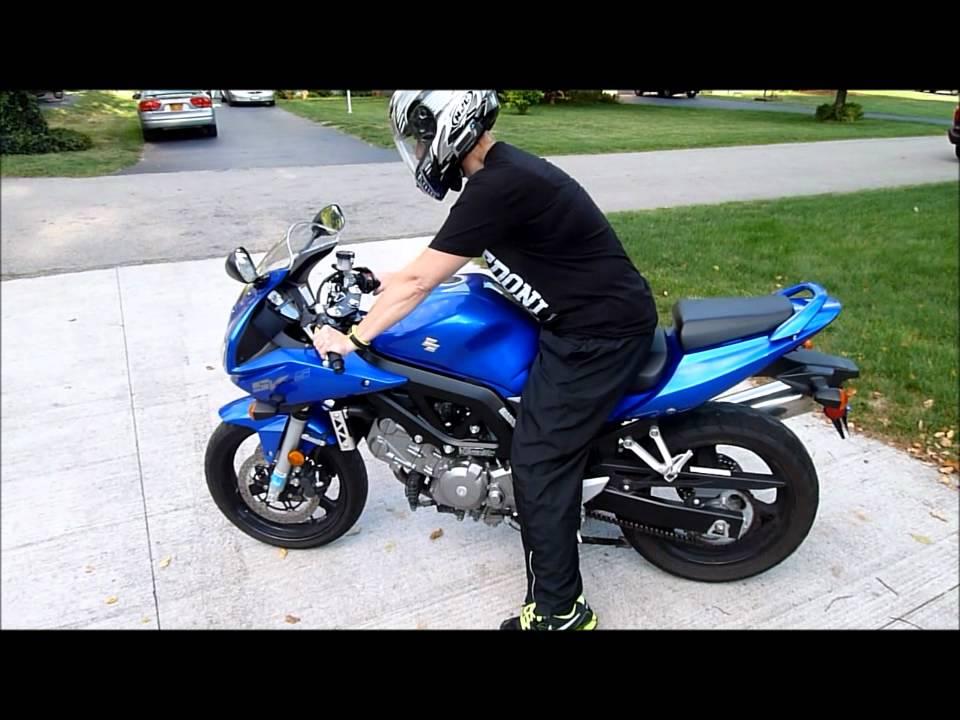 2007 Suzuki SV650S - YouTube