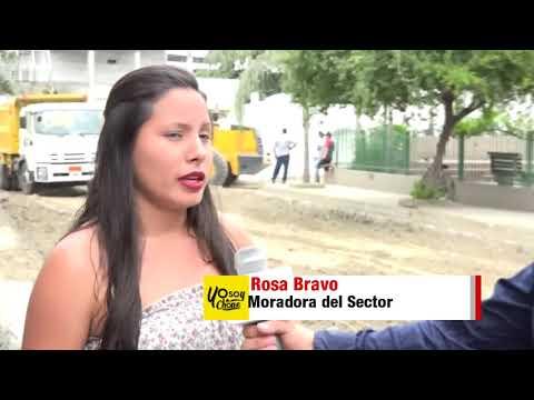 Microinformativo Yo Soy de Chone - La calle Colibrí será asfaltada junto a otras arterias viales