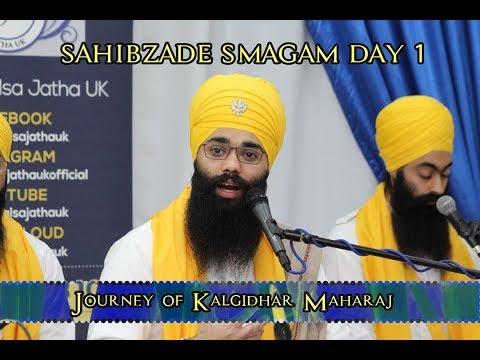 Journey of Kalgidhar Maharaj   Sahibzade Smagam   Manchester   Day 1   22/12/17