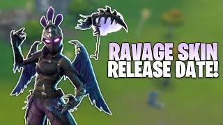Fortnite Ravage Skin FEMALE RAVEN Release Date - Skin Info