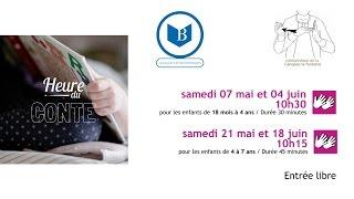 [mai et juin 2016] Canopée - Paris 1e / Heure du conte