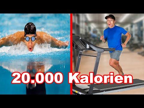20.000 KALORIEN VERBRENNEN