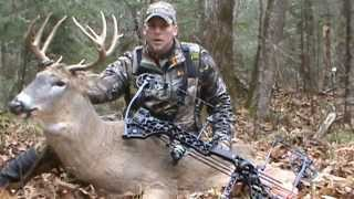 2012 Wisconsin 10 Point Buck Bow Kill-Public Land Hunt