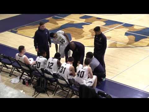 Valley Forge Military Academy JV Basketball vs Church Farm School - 2.3.17